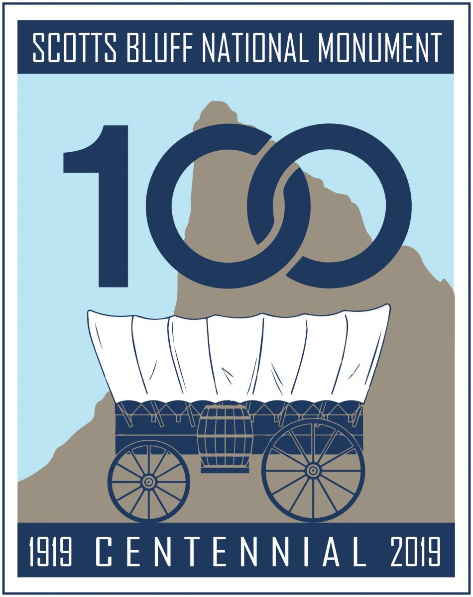 scotts bluff national monument centennial logo